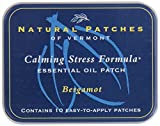 Natural Patches Of Vermont Bergamot Stress Comfort Essential Oil Body Patches, 10-Count Tin