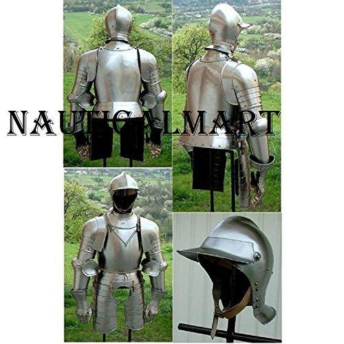 保安傾向がある摘むNauticalMart Samurai Plate Armour Italian Half Armor