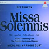 Beethoven: Missa Solemnis/Mei, Lipovsek, Rolfe Johnson, Holl; Harnoncourt