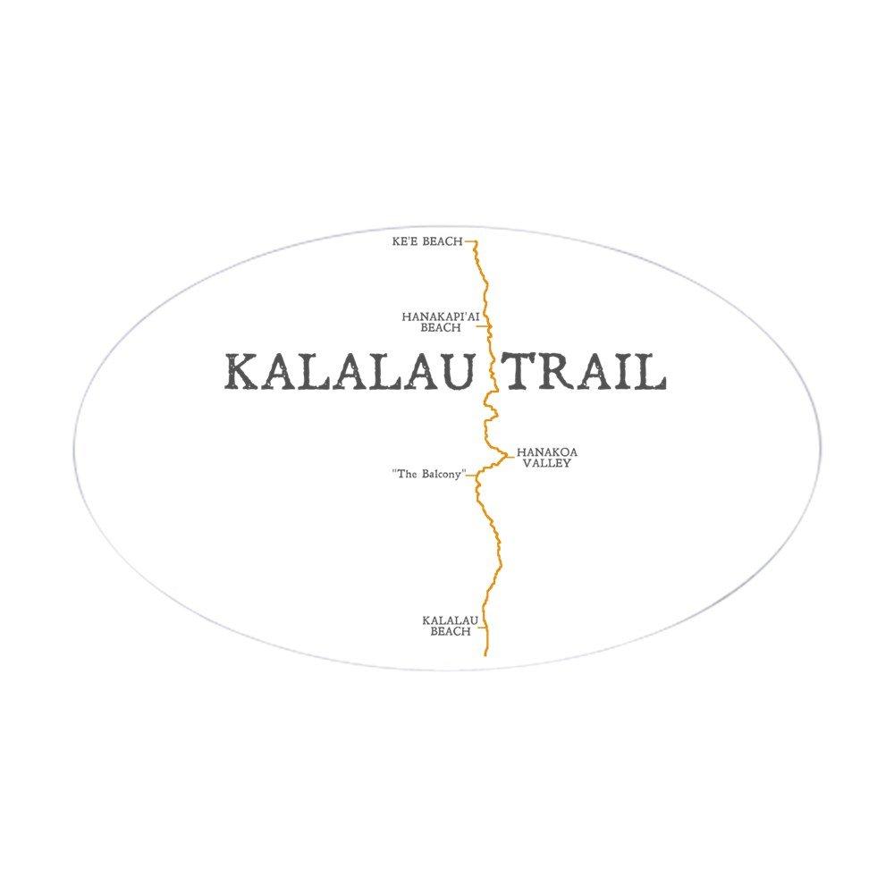 Amazon Com Cafepress Kalalau Trail Sticker Oval Oval