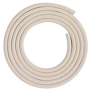 stonylab Vacuum Rubber Tubing, 12mm (15/32'') OD 8mm (5/16'') ID Vacuum Tubing Natural Rubber Tube for Vacuum, 8 x 12mm(5/16'' x 15/32'') Fitting on StonyLab Glassware Labware - 3m (10 Feet)