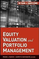 Equity Valuation and Portfolio Management
