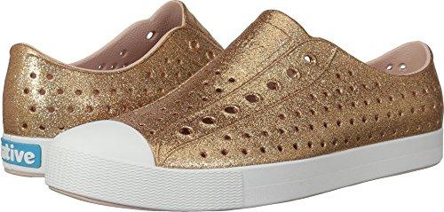 Native Shoes Jefferson Water Shoe, Rose Gold Bling/Shell White, 8 Men's (10 B US Women's) M US ()