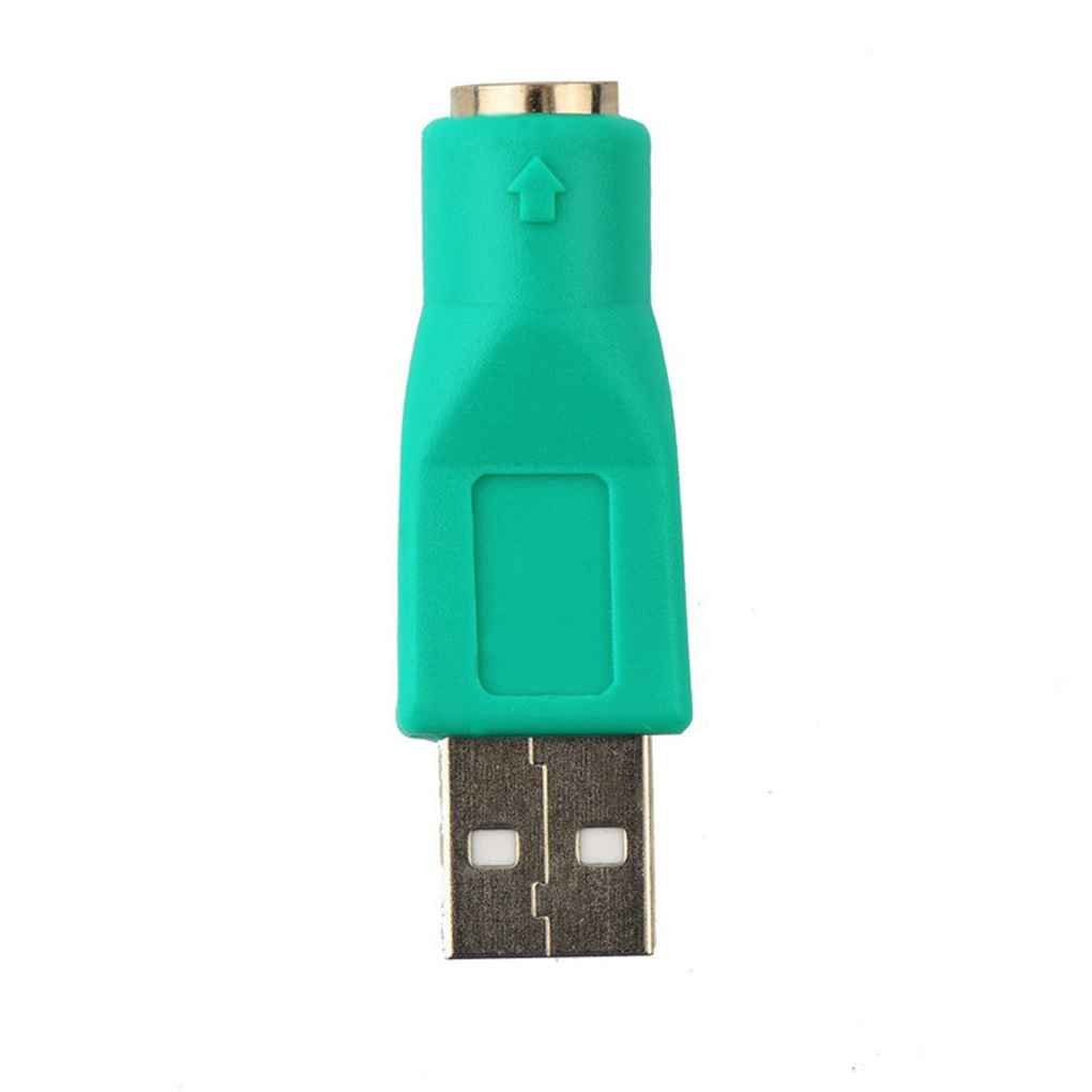 LUFA USB Maschio a Femmina PS2 Adattatori durevoli Convertitori per Computer PC Tastiera Mouse