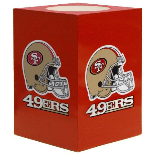 The Northwest Company NFL San Francisco 49Ers Square Flameless Candle by The Northwest Company