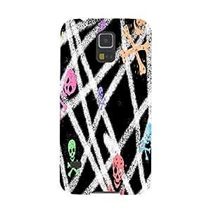 Colorful Crossbones Skulls Skeleton Death Reaper Cover Case iPhone 4/4S