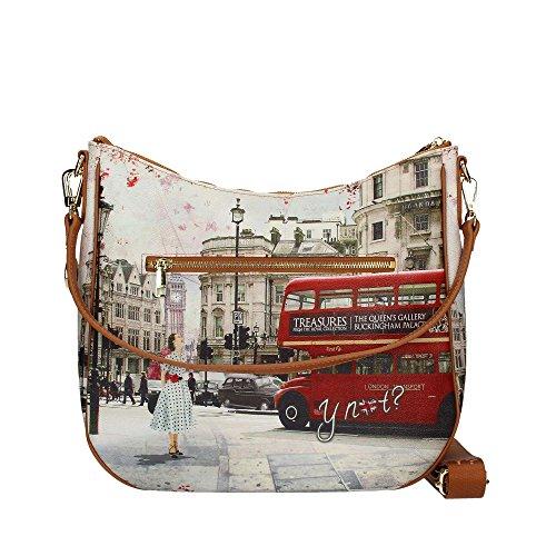 Ride a spalla London 373 Bus J Y Not Borsa YZvqRwCFxF