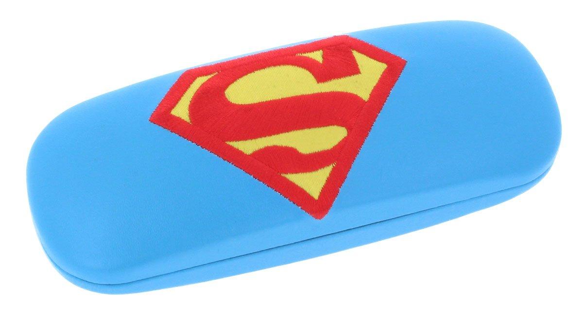 niedliches Brillenetui für Kinder SUPERMAN mit Metallscharnier nasenfahrrad24