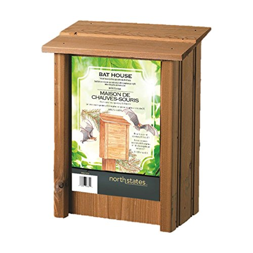 - North States 1641 8-Inch by 4-3/4-Inch by 15-Inch Bat House