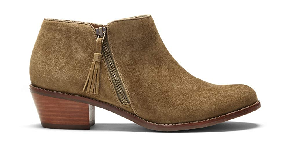 Ladies Everyday Boots with Concealed Orthotic Arch Support Vionic Womens Joy Serena Ankle Boot