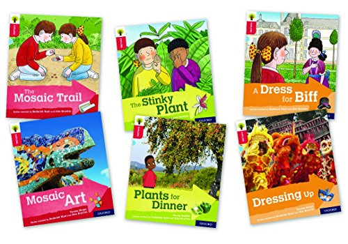 Oxford Reading Tree Explore with Biff, Chip and Kipper: Oxford Level 4: Mixed Pack of 6