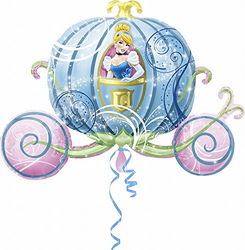 Amscan Super Shape Cinderella Carriage Balloon Party -