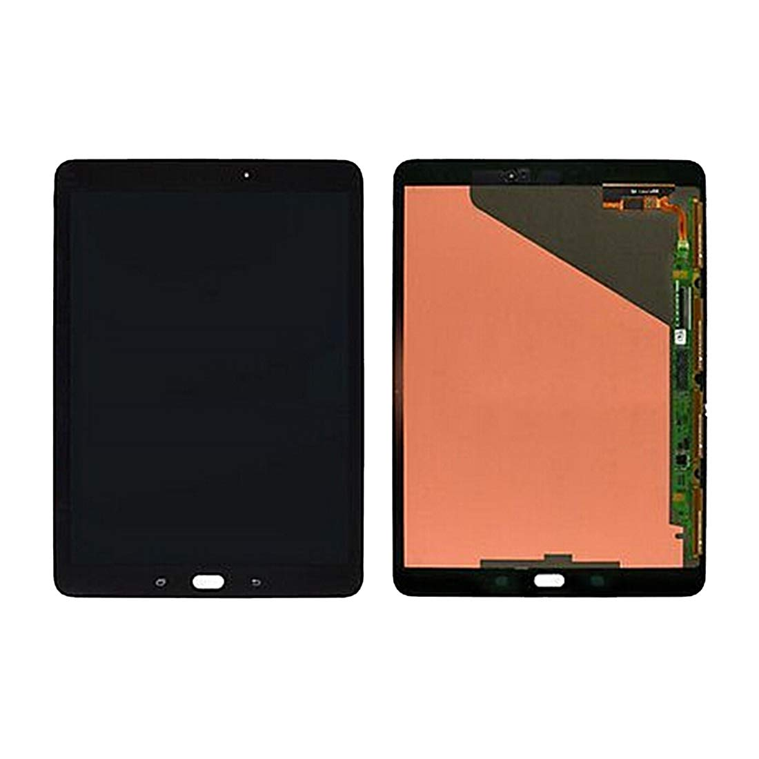 HONGYU Smartphone Spare Parts for Galaxy Tab S2 9.7 / T815 / T810 LCD Screen and Digitizer Full Assembly(Black) Repair Parts (Color : Black)
