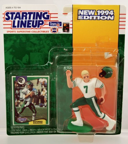 Starting Lineup Boomer Esiason Figure with Trading Card 1994 NFL Football New York -