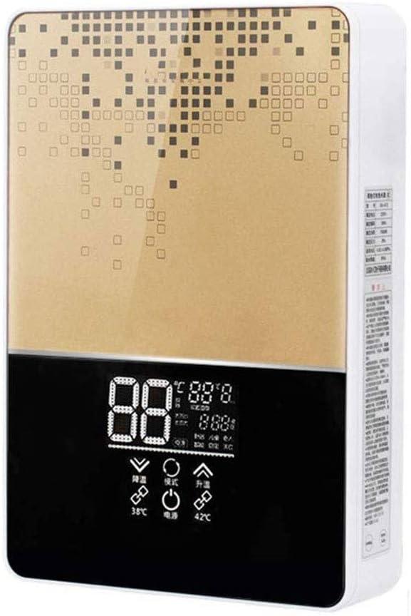 KYLL Caliente del Calentador de Agua sin Tanque eléctrico inmediato Caldera 6000W Baño Ducha Set de Seguridad Inteligente automática de la Cocina del hogar