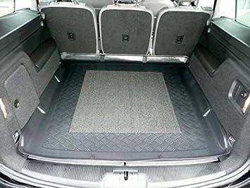 Gummi-Fußmatten+Kofferraumwanne VW SHARAN II ab 2010 7 Sitze