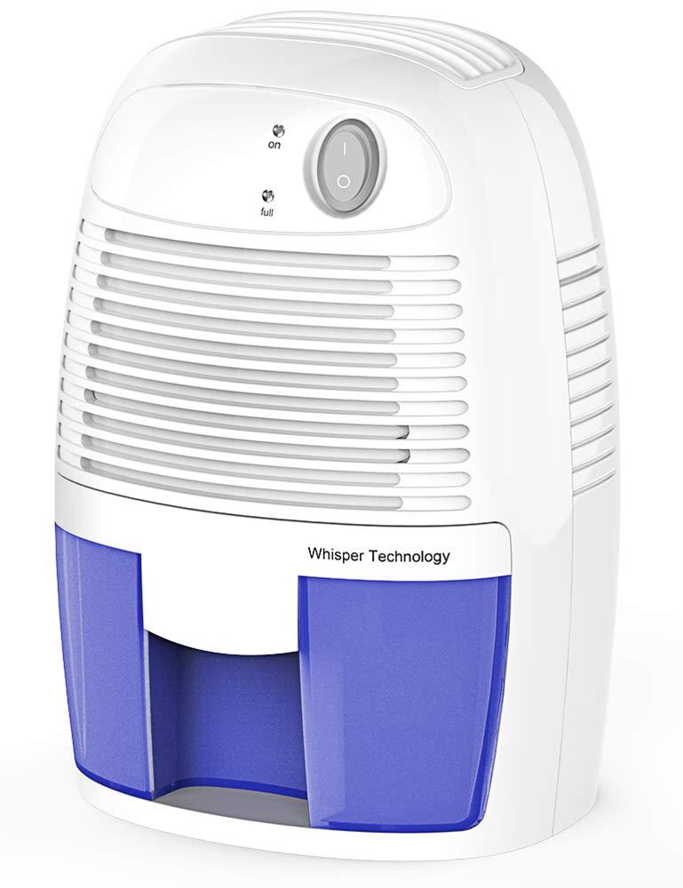 Afloia Electic Home Dehumidifier, Portable Small Dehumidifier for Home 500ml Air Dehumidifier for Bathroom Small Dehumidifier for Home
