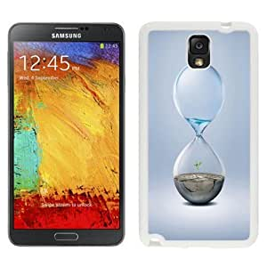 NEW Unique Custom Designed For Case Samsung Galaxy S3 I9300 Cover Phone Case With Hourglass Earth Water_White Phone Case