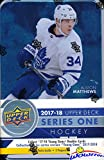 #10: 2017/18 Upper Deck Series 1 NHL Hockey Factory Sealed EXCLUSIVE Collectors TIN with 12 Packs & Special Winter Classic Jumbo Card! Includes 3 Young Guns Rookies & 2 Portrait Inserts! Super Hot! WOWZZER