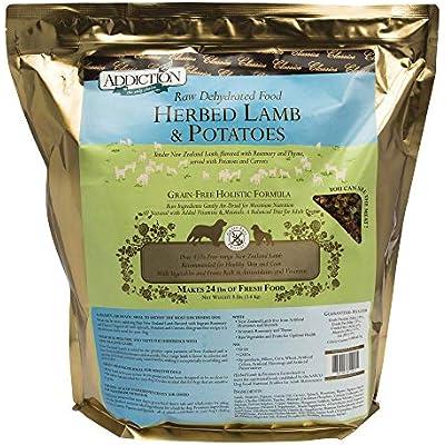 Addiction Grain Free Dehydrated Dog Food Lamb & Potato