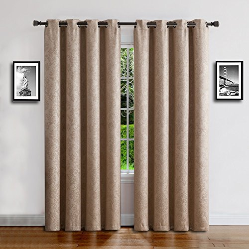 Warm Home Designs 1 Panel of Taupe Color 54