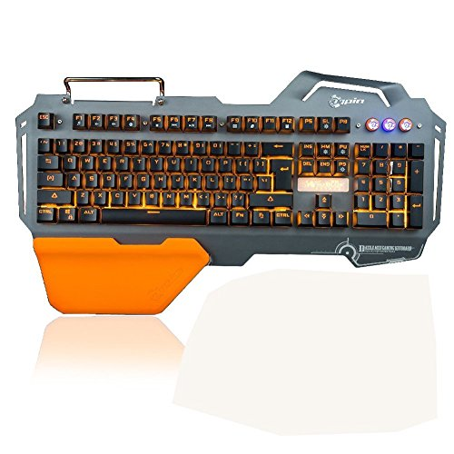 BlueFinger-Gaming-keyboard-and-Mouse-Combo-Backlit-Keyboard-Wired-LED-Adjustable