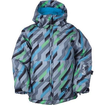 50579d2212cc Amazon.com   Ride Joker Toddler Snowboard Jacket Diagonal Print - 4T ...