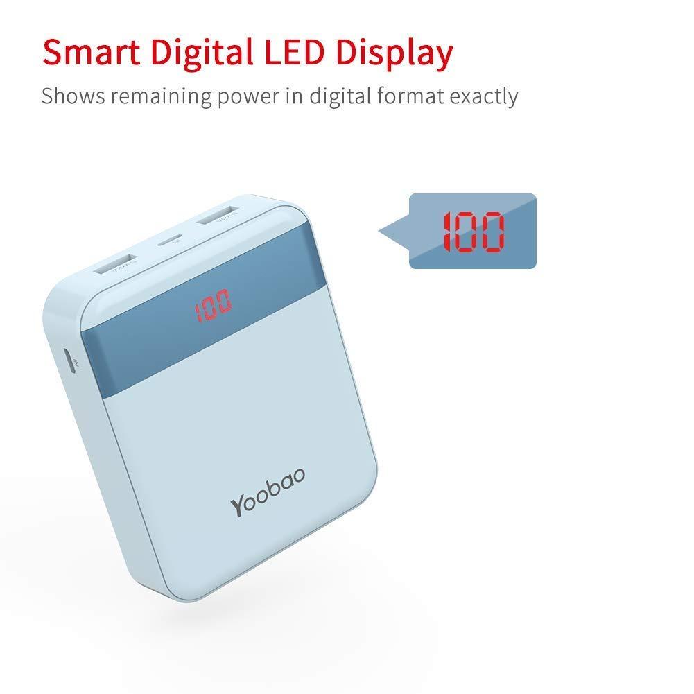 Externe Yoobao De Bank Power 10000mah Portable Chargeur Batterie T3lFK1cJ