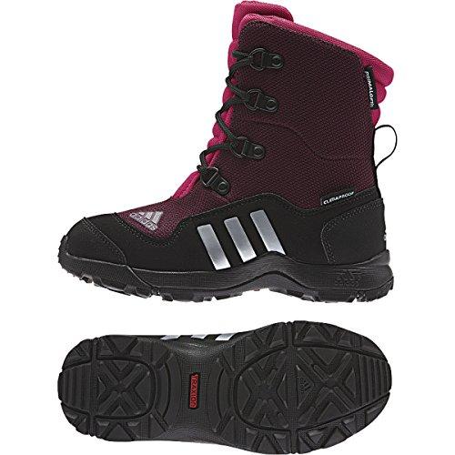 Adidas Outdoor Adisnow II Primaloft CP - Kids' Amazon Red/Tech Grey/Vivid Berry, 3.0