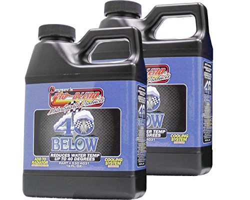 Pro-Blend Keyser's 40 Below - Reduces Engine Temp - Coolant Additive, Powerful Radiator Water treatment - Antifreeze Coolant Concentrate Additive - Compatible With Most Antifreeze Coolant - 2 Pack by Pro-Blend