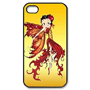 LSQDIY(R) betty boop iPhone 4,4G,4S Case, Custom iPhone 4,4G,4S Phone Case betty boop