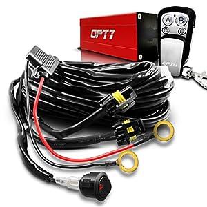 opt7 14 gauge 380w 2 way led light bar wiring. Black Bedroom Furniture Sets. Home Design Ideas