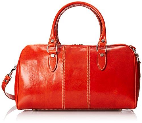 (Floto Luggage Venezia Mini Travel Kit, Orange, Small)