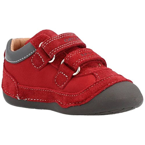 Botas para ni�o, color Rojo , marca GEOX, modelo Botas Para Ni�o GEOX B TUTIM B C Rojo ROJO