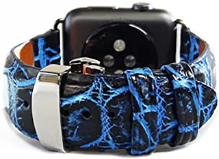 product image for Alligator Watch Strap with Deployment Buckle