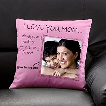 Buy Gifts By Meeta Personalized Gift For Mom On Birthday Mother S Day With Cushion Cover Customize Optional With Filler Online At Low Prices In India Amazon In