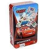 Disney Pixar Cars 2 Dominoes Game Set In Metal Tin