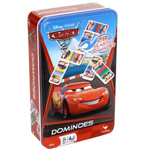 [Disney Pixar Cars 2 Dominoes Game Set In Metal Tin] (Cars Movie Costumes)