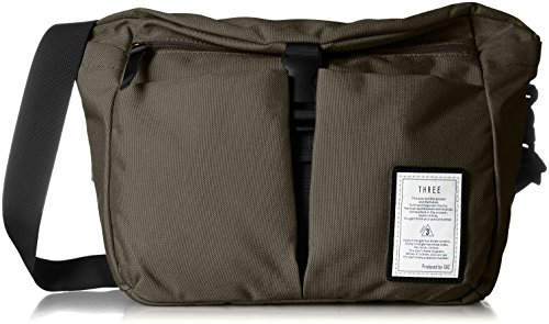 [Sack Three] Sac Three Cordura Nylon Shoulder Bag Mate Se0010 Ka (Khaki) Jp F/S