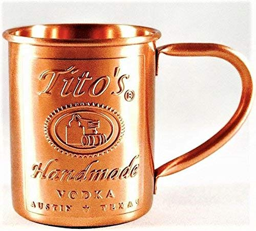 Tito's Vodka Copper Moscow Mule Mug by Tito's