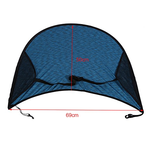 Universal Sunshade and Sunscreen Cover for Baby Car Advanced Style Blue by Yosoo (Image #1)
