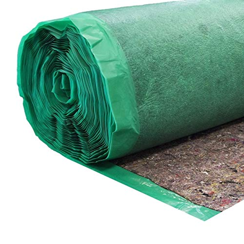 Bestlaminate Premium 3mm Felt Underlayment with Vapor Barrier (400sq.ft.)