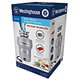 Westinghouse Garbage Disposal 3/4 HP High Torque / 8 Year Warranty #QKG03