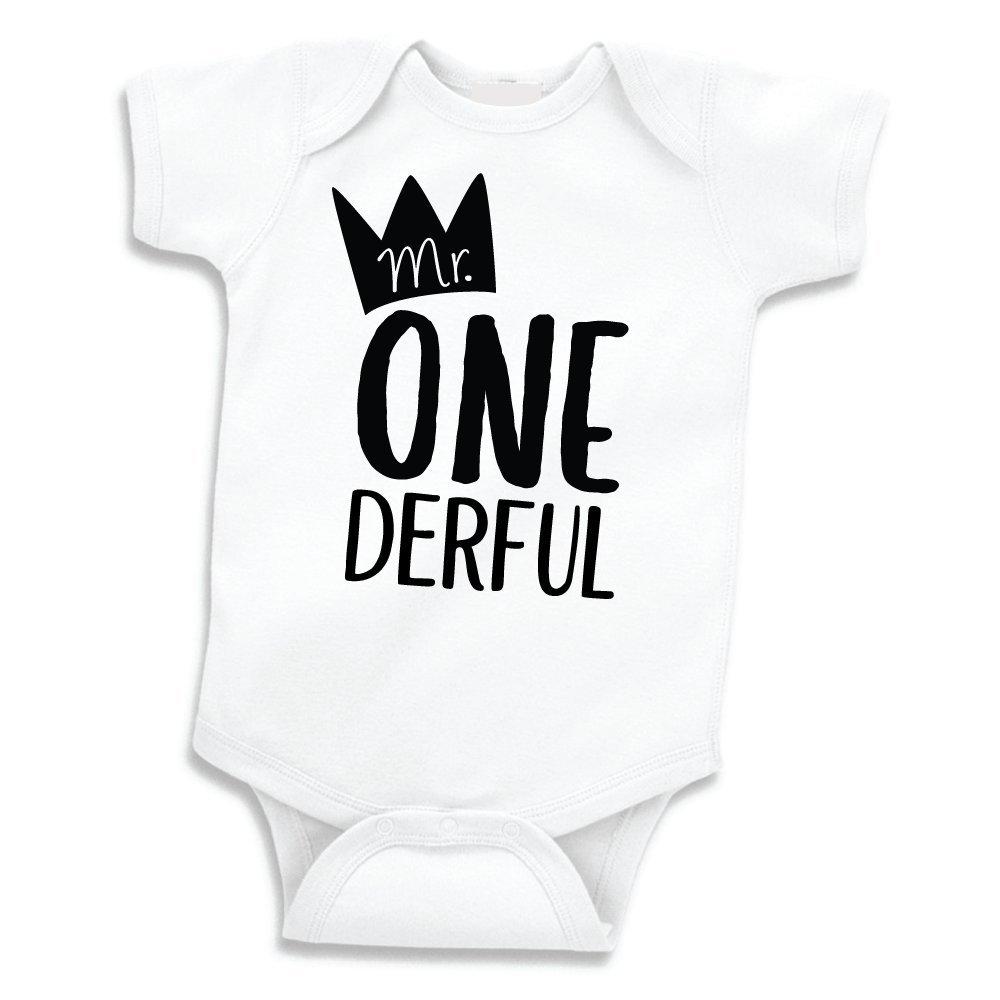 d8eab47e9ef9 Amazon.com  Boy First Birthday Outfit