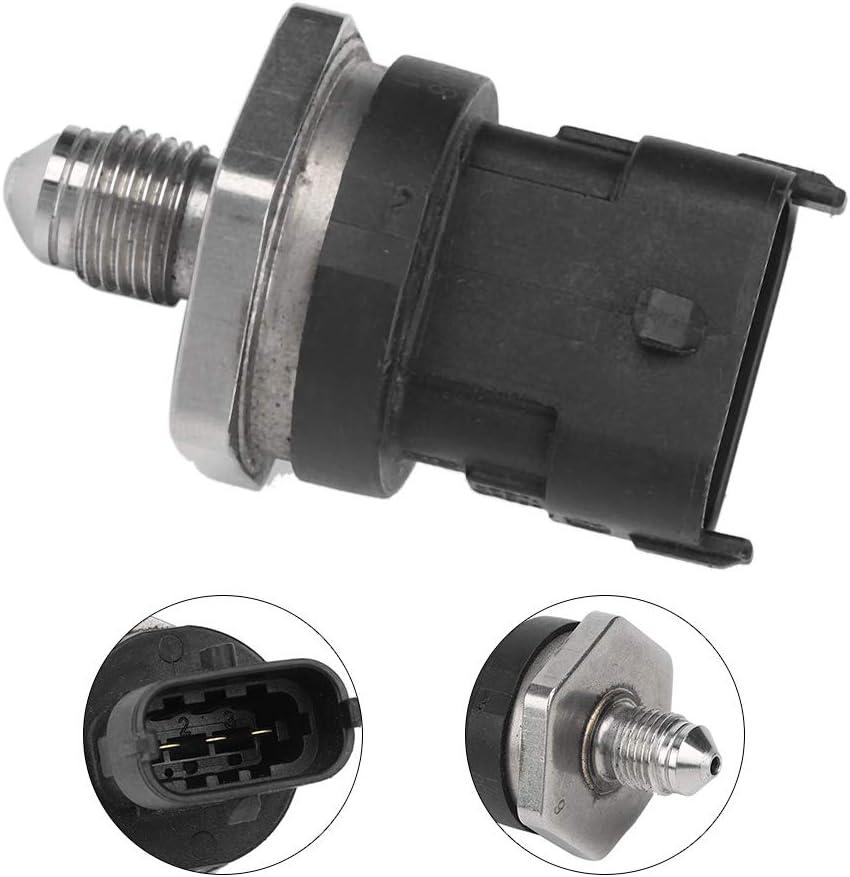 Black + Silver KIMISS ABS Plastic Car Fuel Pressure Sensor OEM 0261545058