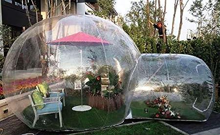 b616e289a65 Amazon.com : Bubble Tents Outdoor Single Tunnel Inflatable Family Camping  Backyard Transparent : Garden & Outdoor