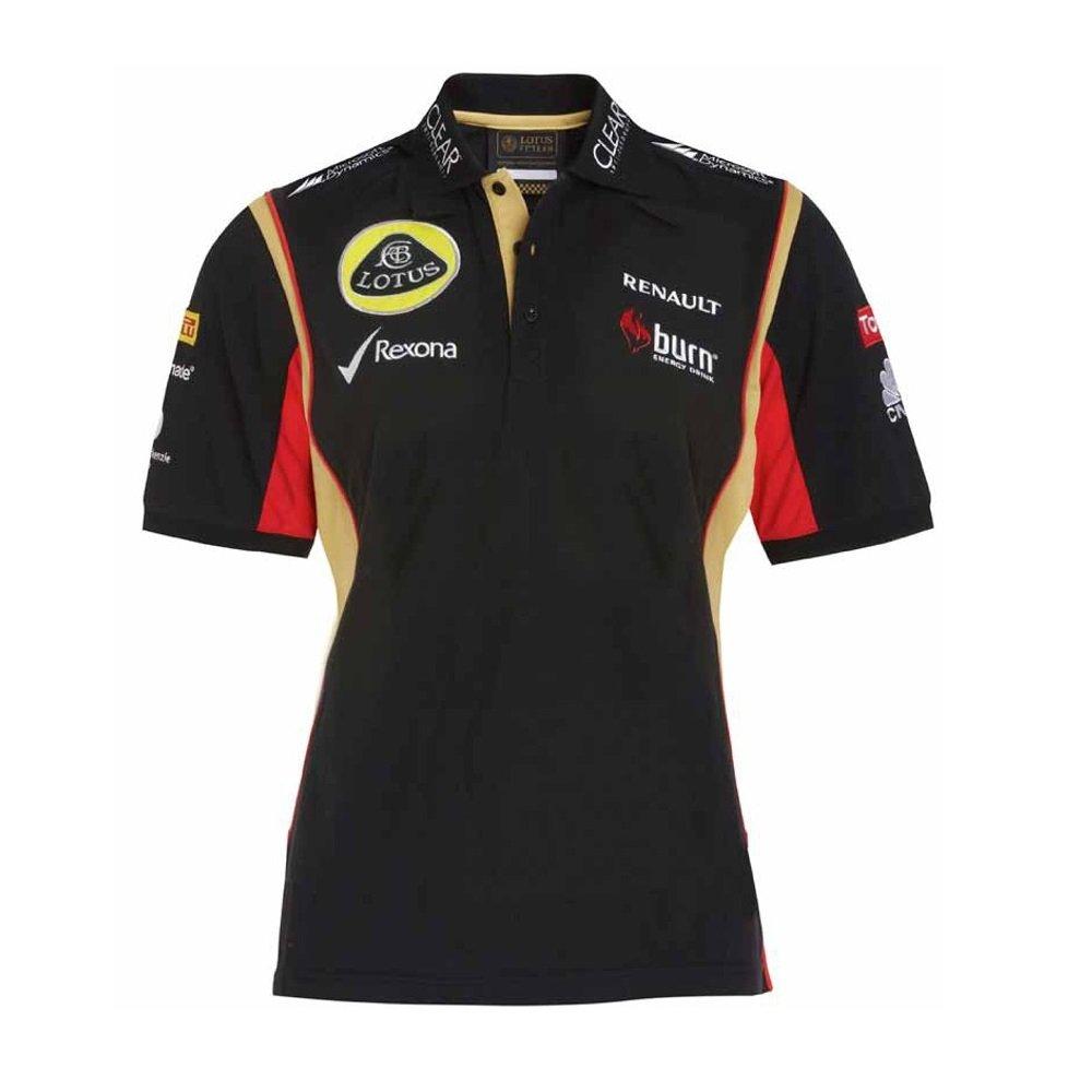 Lotus F1 Team patrocinadores Burn Ladies 3 Botón Polo, Mujer ...