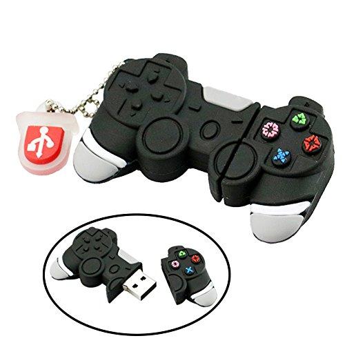 32GB USB 2.0 Flash Drive Funny Games Controller Shape Memory Stick Thumb Drive GamePad Joypad Gaming Controller Pendrive ()
