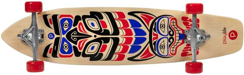 36 Zoll Komplettboard Playlife Longboard Cherokee Cruiser Longboard ABEC 9