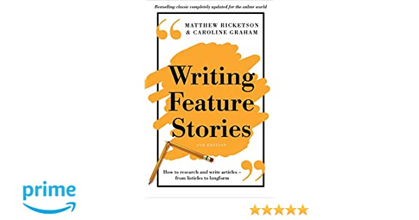 writing feature stories